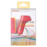 BASEUS F-Series Double USB Car Charger [CCALL-FS0R] - Rose - Car Kit / Charger